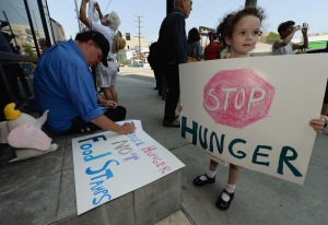 Image: Activists Protest House Farm Bill Plan To Cut Food Assistance Program